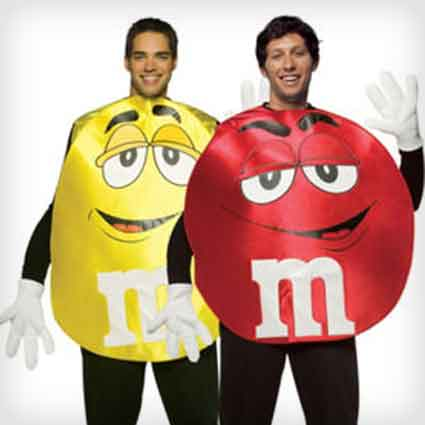 M&M's Couples Costumes