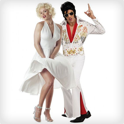 Marilyn Monroe and Elvis Presley Costumes