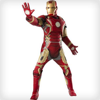 Mens Iron Man Costume