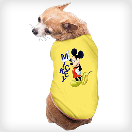 Mickey Mouse Dog Shirt