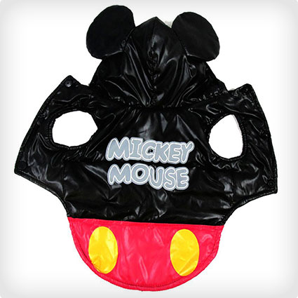 Mickey Mouse Pet Coat Costume