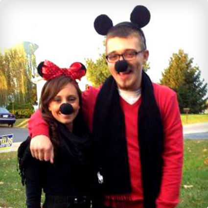 Mickey and Minnie Mouse Costumes