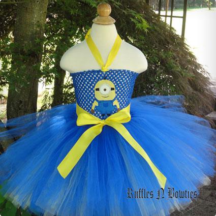 Minion Tutu Costume