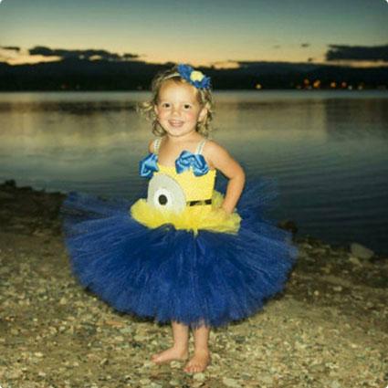 Minion Tutu Costume Dress