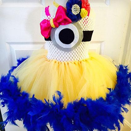 Minion Tutu Dress Outfit