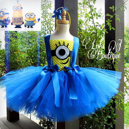 Minion Tutu Dress Set