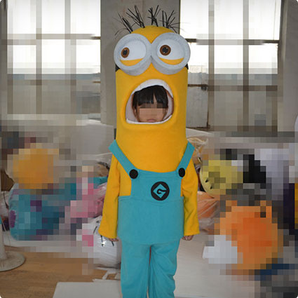Minions Children Mascot Costume