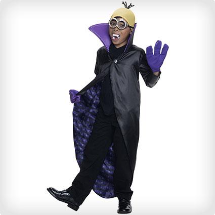 Minions Dracula Child Costume