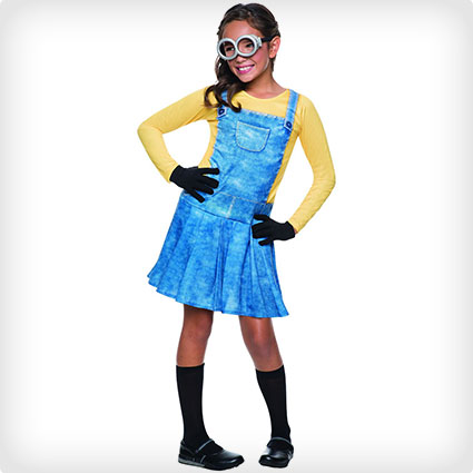 Minions Female Child Costume