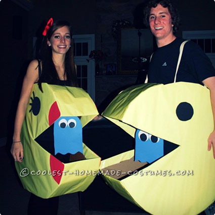 Mr. and Mrs. Pacman Costumes