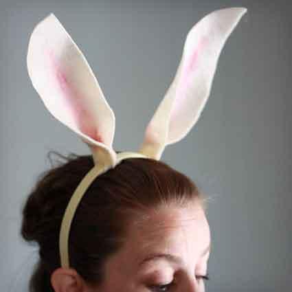 No Sew Felt Bunny Ears