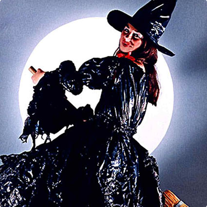 No-Sew Witch Costume