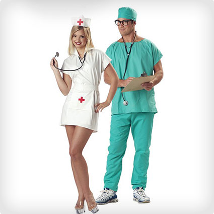 Nurse Couples Costumes