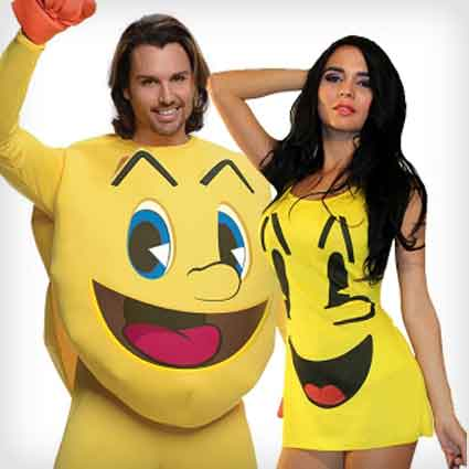 Pac-man Couples Costumes