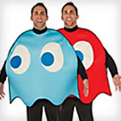 Pac-man Ghosts Couples Costumes