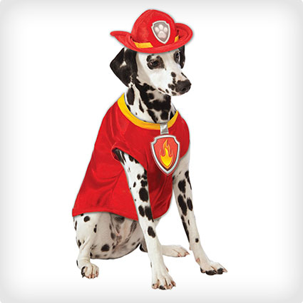 Patrol Marshall Dog Costume