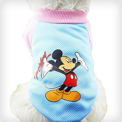 Pet Dog Mickey Mouse Shirt
