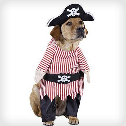 Pet Pirate Dog Costume