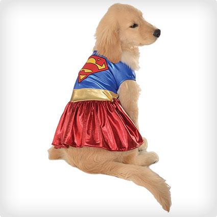 Pet Supergirl Costume