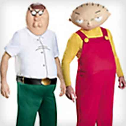 Peter and Stewie Griffin Couples Costumes