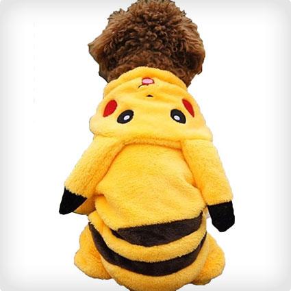 Pikachu Dog Coat