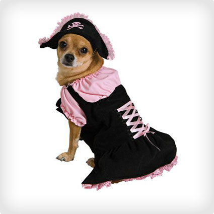 Pink Pirate Pet Costume