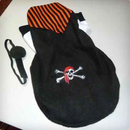Pirate Fleece Doggy Costume