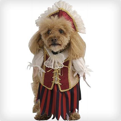 Pirate Queen Pet Costume