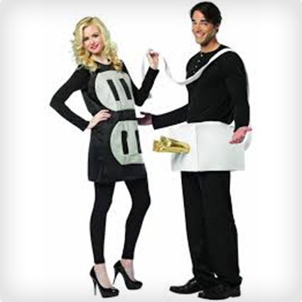 Plug and Socket Couples Costume  sc 1 st  Costume Yeti & 102 Best Halloween Couples Costumes of All Time (50+ DIY Ideas)