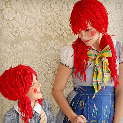 Rag Doll Halloween Costume DIY