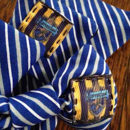 Ravenclaw House Crest Dog Necktie