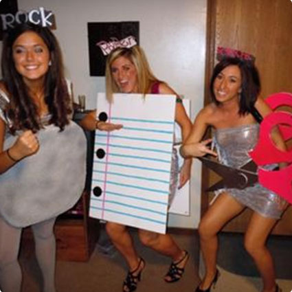 Rock Paper Scissors Costumes