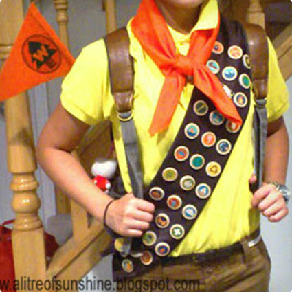 Russell the Wilderness Explorer Costume
