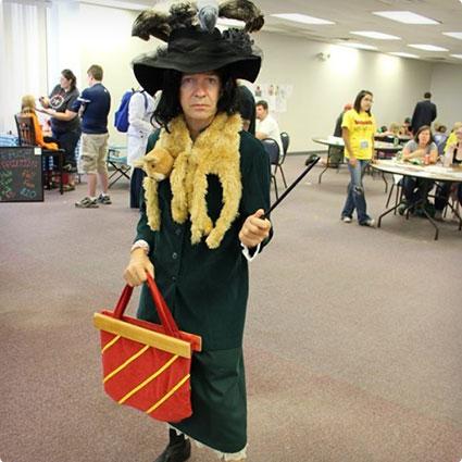Severus Snape Boggart Costume