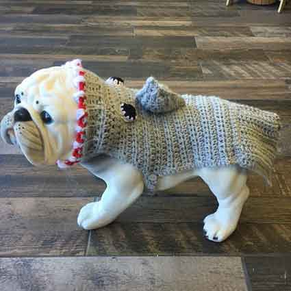Shark Attack Sweater for Pets