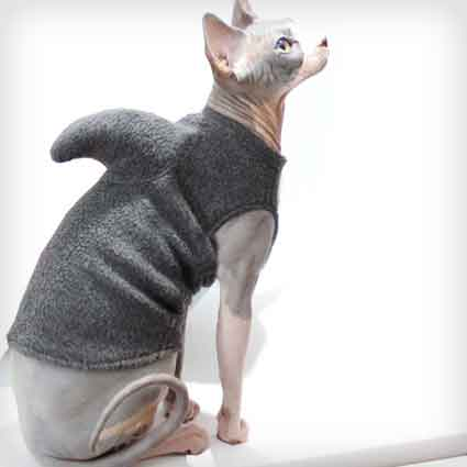 Shark Week Grey Pet Sweater