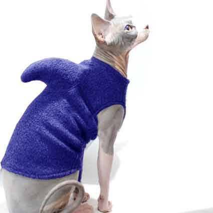 Shark Week Purple Pet Sweater