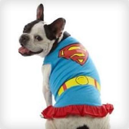 Superman Dog Dress Costume