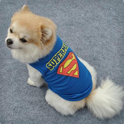 Superman Dog Vest