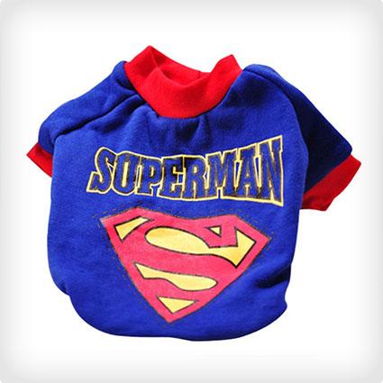Superman Doggie Costume