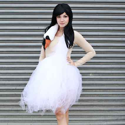 Swan Dress Costume Tutorial