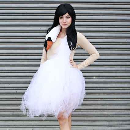Swan Dress Costume Tutorial