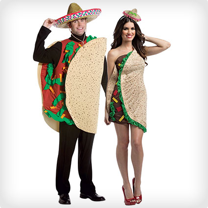 Taco Couples Costumes