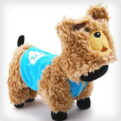 Thick Warm Cartoon Bear Pet Clothes