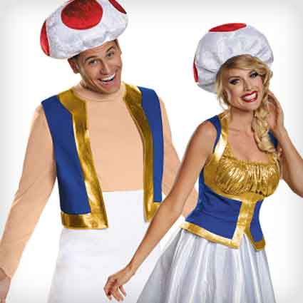 Toad Stool Couples Costumes