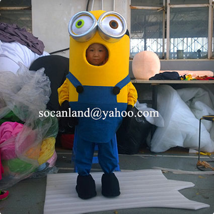 Toddlers Minion Bob Costume