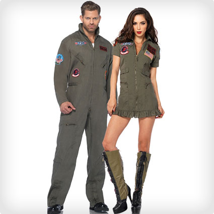 Top Gun Flight Suit Costumes  sc 1 st  Costume Yeti & 102 Best Halloween Couples Costumes of All Time (50+ DIY Ideas)