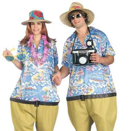 Tropical Tourist Costumes