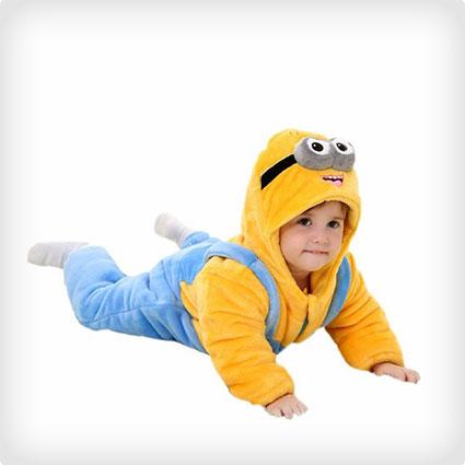 Unisex Toddler Minion Kigurumi