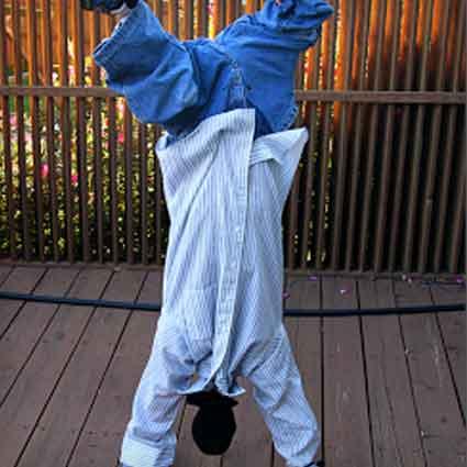 Upside-Down Man Costume